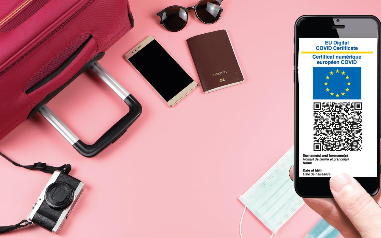 De digitale coronacheck van de EU wordt vanaf 1 juli in gebruik genomen.