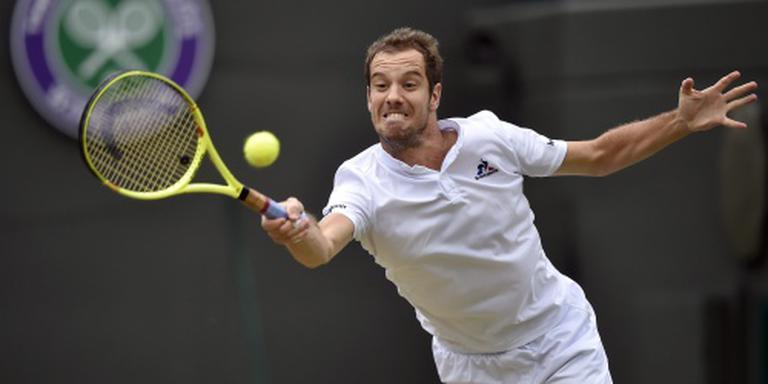 Gasquet laat zich verrassen op US Open