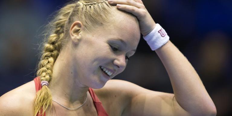 Bertens in hoofdtoernooi Australian Open