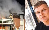 Marc (19) haalt bewoners uit brandend pand in Veenoord: 'Dit had veel erger kunnen aflopen'