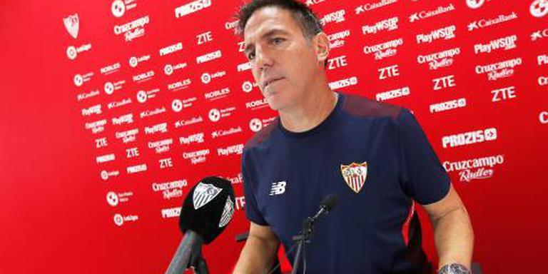 Operatie trainer Sevilla goed verlopen