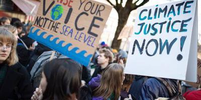 Duitse scholieren eisen klimaatbescherming