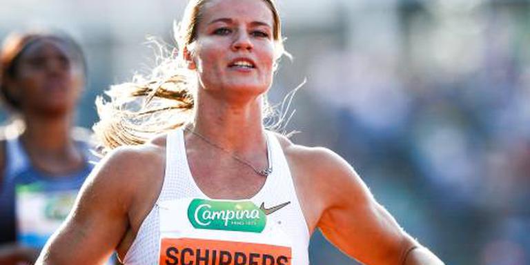 Schippers wint ook 200 meter in Ostrava