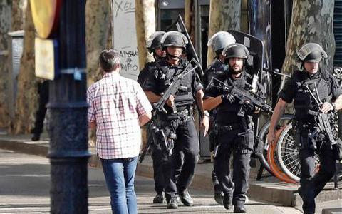 Jeroen was bij de aanslag in Barcelona: 'Op iedere straathoek staat nu politie'