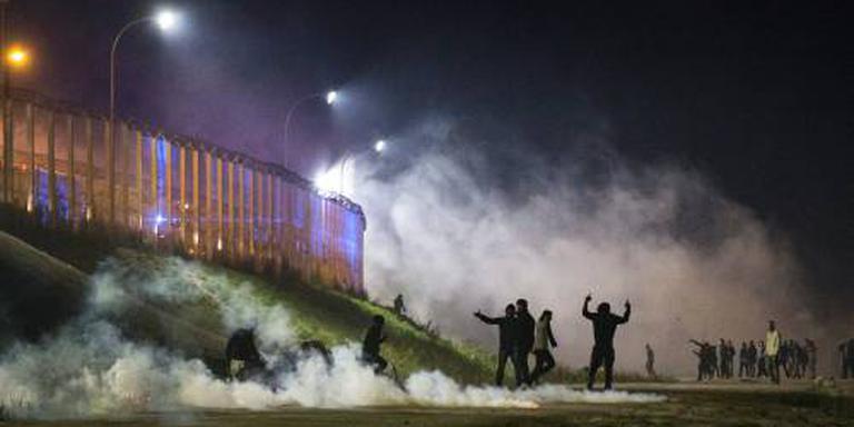 Rellen bij ontruimingen 'jungle' in Calais