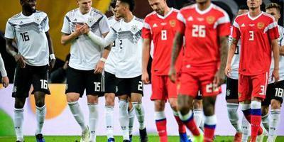 Duitsland in laatste test voorbij Russen