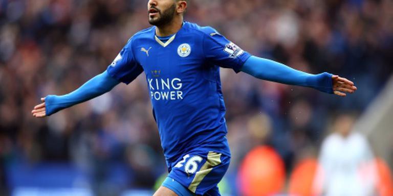Leicester slaagt ook zonder Vardy