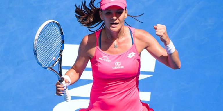 Radwanska naar halve finales Australian Open