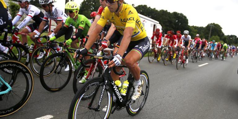 Peloton begonnen aan langste etappe Tour