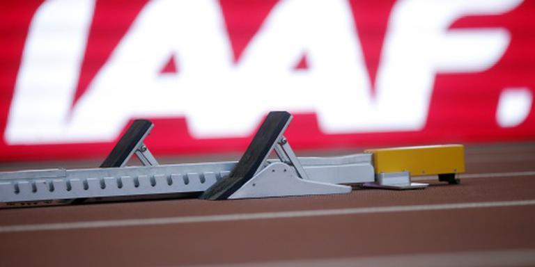 'IAAF handhaaft schorsing Russische atletiek'