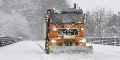 Veluwe koploper met 34 centimeter sneeuw