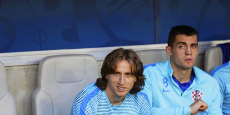 Kroaten Modric en Mandzukic weer fit