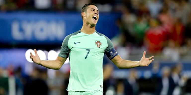 Ronaldo wil lachen in plaats van huilen
