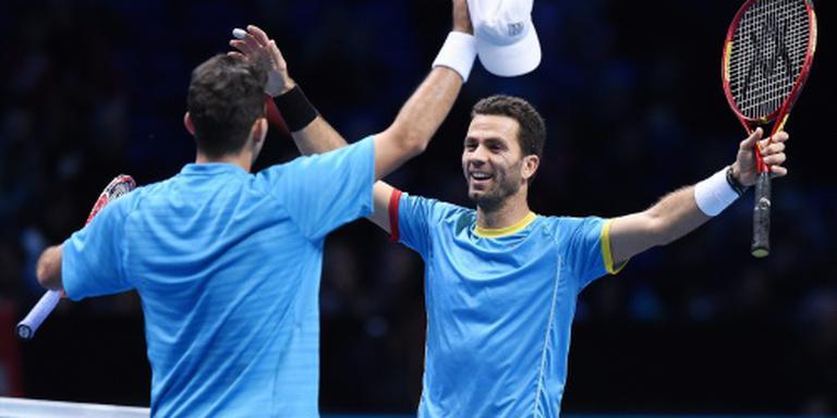 Rojer door in mannendubbel Australian Open