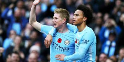 Manchester City naar finale League Cup