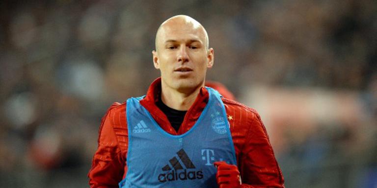 Robben traint vrolijk mee bij Bayern München