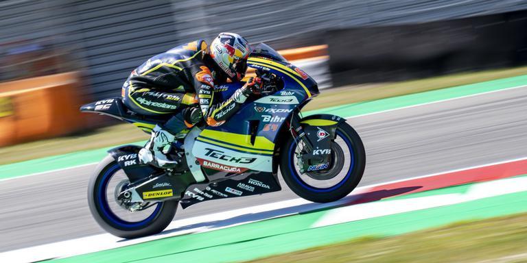 De Nederlandse Bo Bendsneyder, Moto 2. Foto: Marcel Jurian de Jong