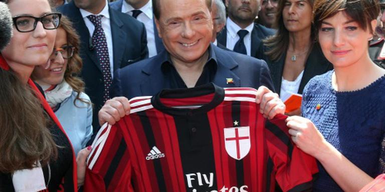 'Berlusconi praat over verkoop AC Milan'