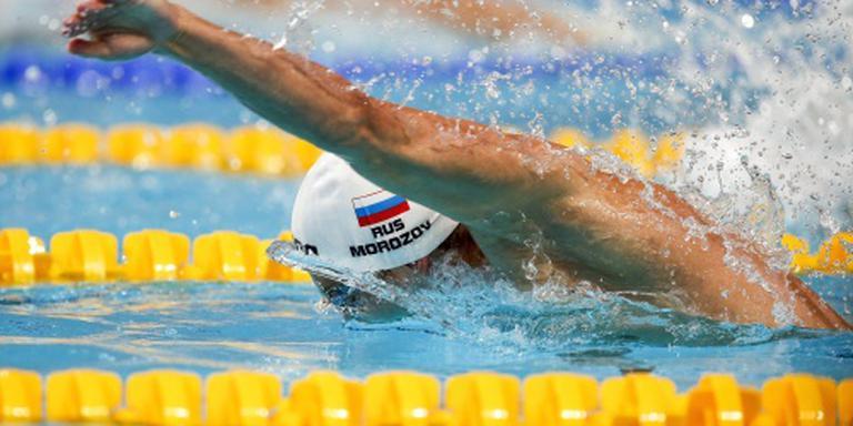 'Zwemmers Morozov en Lobintsev starten op OS'
