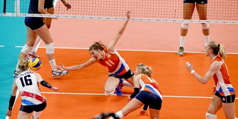 Volleybalsters laten wereldkampioen ontsnappen