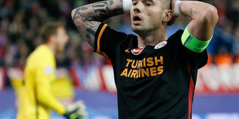 Galatasaray rekent op Sneijder