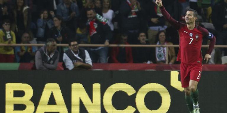 Ronaldo op dreef tegen Andorra