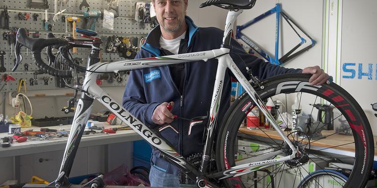 Hans Zwiers: eerst groenteboer, nu eigenaar van fietsenzaak