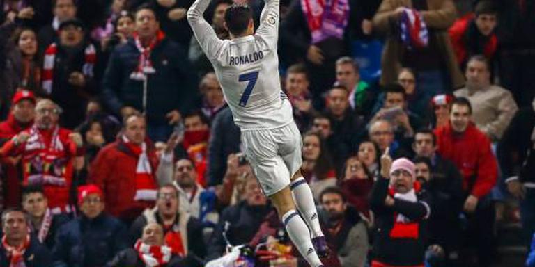 Ronaldo leidt Real Madrid langs Atlético