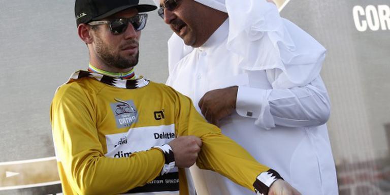 Cavendish wint Qatar, slotrit voor Kristoff