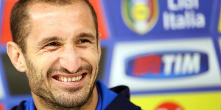 Juventus moet Chiellini drie weken missen