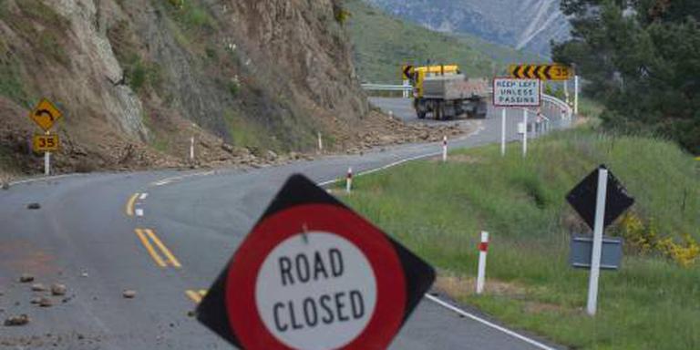 Opnieuw aardbeving in Nieuw-Zeeland