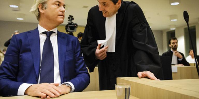 OM: geen reden stilleggen zaak Wilders