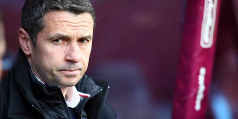 Trainer Rémi Garde weg bij Aston Villa
