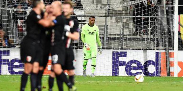 AZ-doelman Coutinho paar weken uitgeschakeld