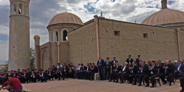 President Oezbekistan bijgezet