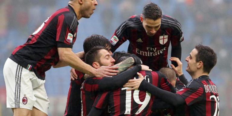 Zege AC Milan op Genoa