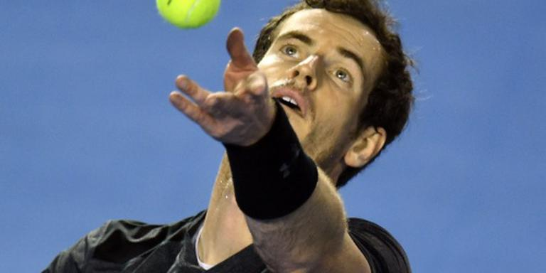Murray in drie sets langs Tomic