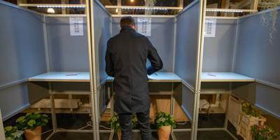 Rustig bij nachtelijk stembureau Castricum