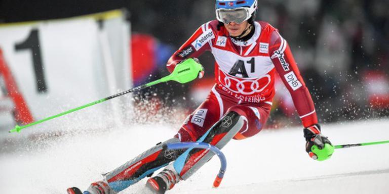 Kristoffersen wint ook slalom Schladming