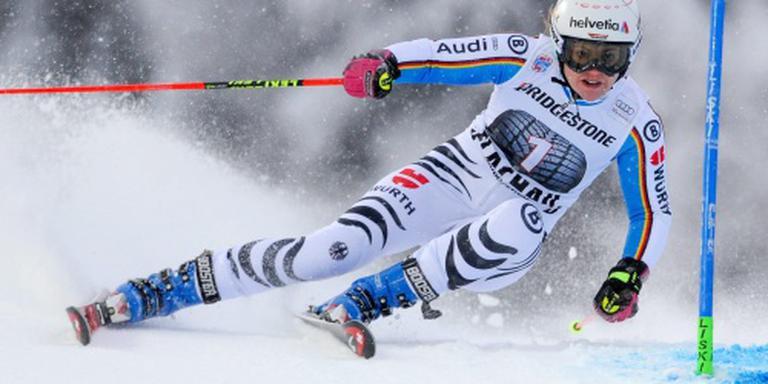 Skiester Rebensburg eindelijk weer succesvol