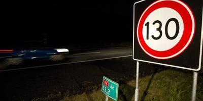 Op meer trajecten vanaf vrijdag 130 km/u rijden. Foto ANP