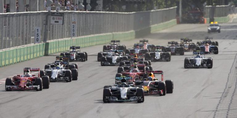 Rosberg rapste in Bakoe, Verstappen achtste