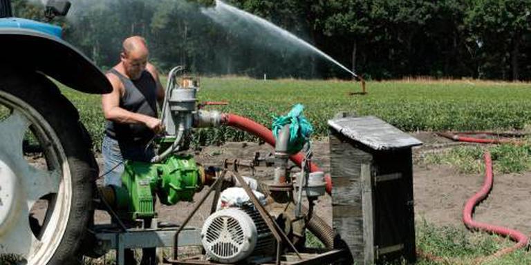 Sproeiverbod voor boeren op de Veluwe