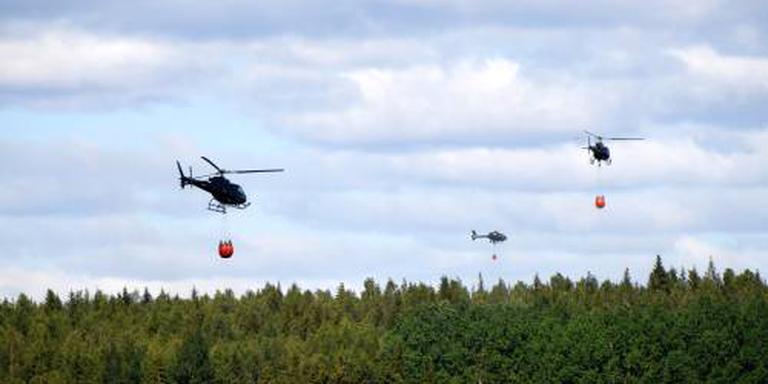 Italië helpt Zweden met blusvliegtuigen