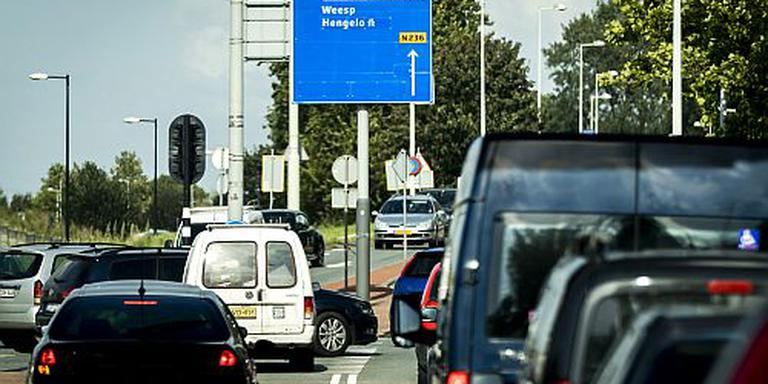 Langere file op A6 ondanks nieuwe snelweg