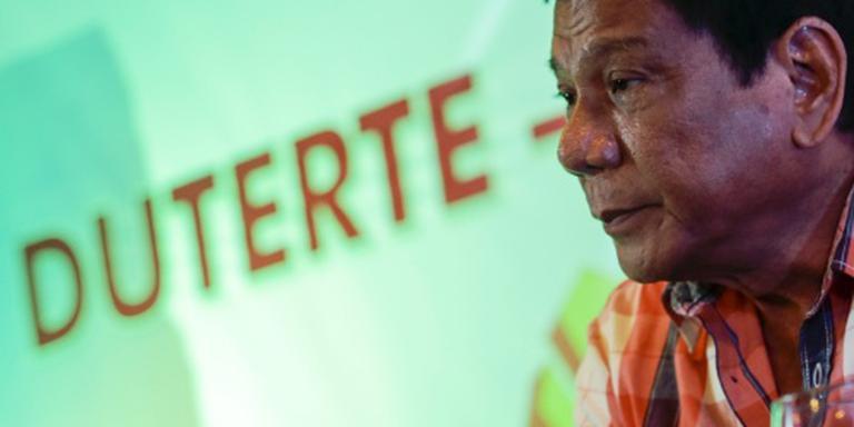 Duterte claimt overwinning in Filipijnen