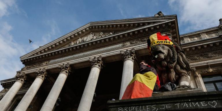 Honderden hooligans in centrum van Brussel