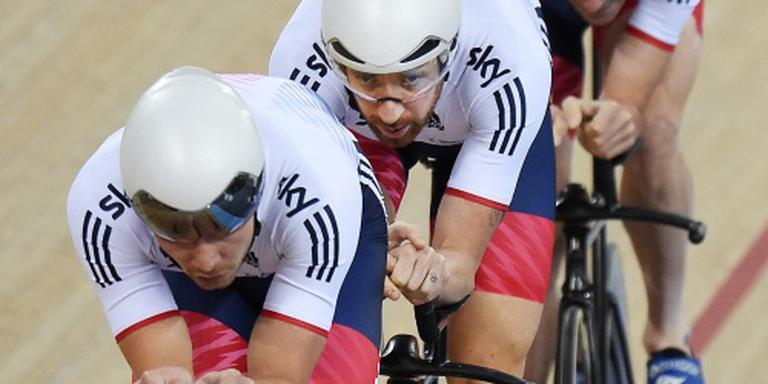 Wiggins en Cavendish pakken wereldtitel