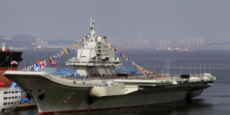 China bouwt tweede vliegdekschip