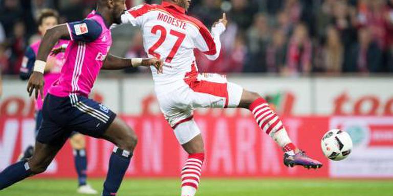 Modeste pijnigt Hamburger SV